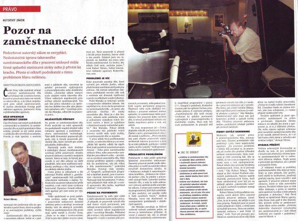 Profit 20/2006, citace Roberta Němce
