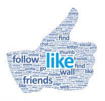 Sociální sítě, Like