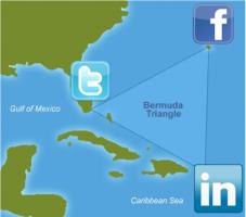Sociální sítě - bermudský trojúhelník