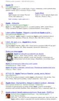 Google SERP 7 výsledků vyhledávání