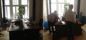 Flexibilní kanceláře