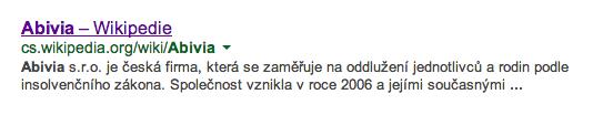 Abivia na Wikipedii