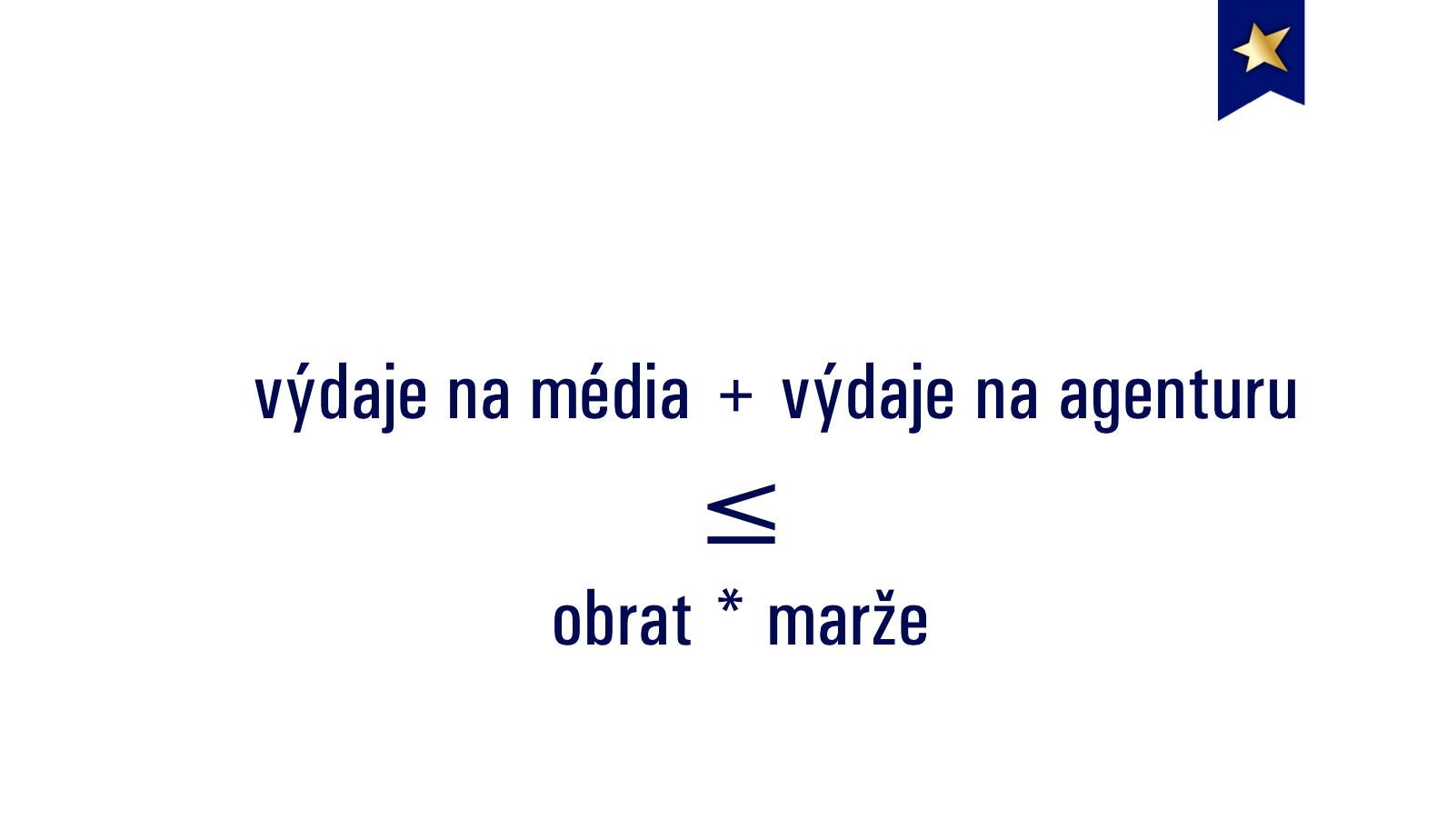 Výdaje na média a agenturu