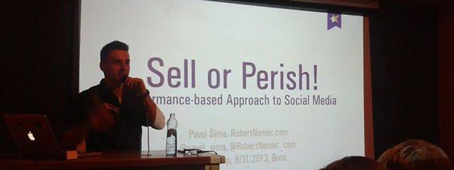 Pavel Šíma - Sell or Perish
