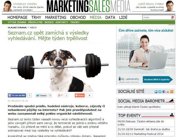 Agentura RobertNemec v MarketingSalesMedia