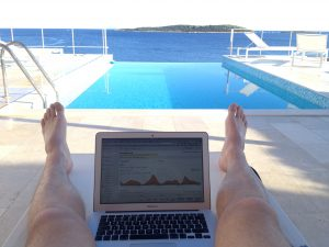 Práce u moře