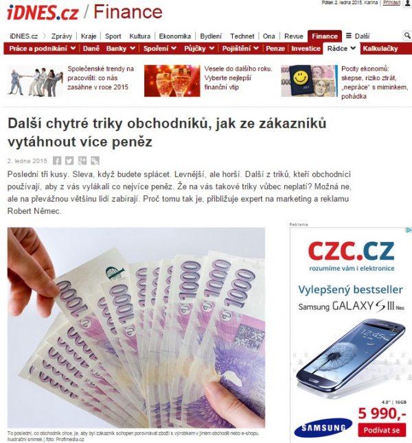 RobertNemec.com pro iDNES.cz