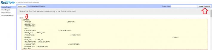 Ukázka XML feedu